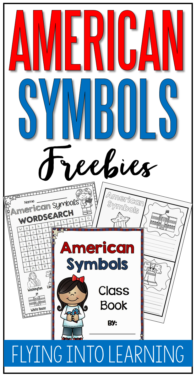 Enjoy these American Symbol freebies with your primary learners!